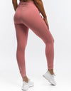 Ladies Tapered Joggers - Dusty Pink