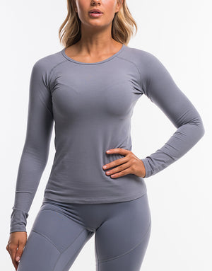 On The Fly Long Sleeve - Quicksilver