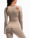 Echt Scrunch Long Sleeve - Nude
