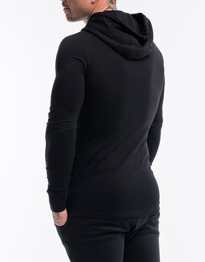 Echt Synth Zip-Up - Black