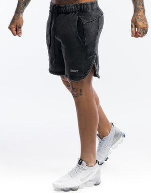 Echt Wash Shorts - Black
