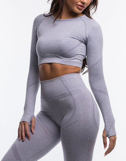 Arise Cropped Long Sleeve V2 - Allure