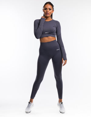 Arise Prime Cropped Long Sleeve - Periscope