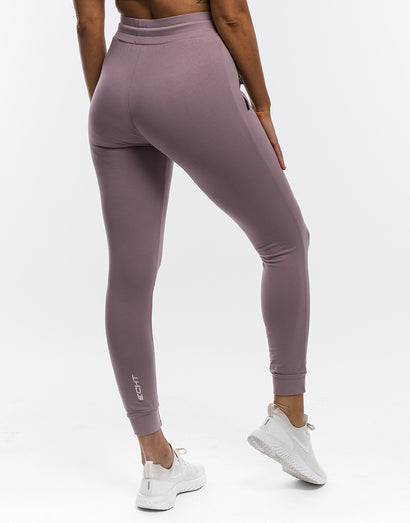 Ladies Tapered Joggers - Mauve