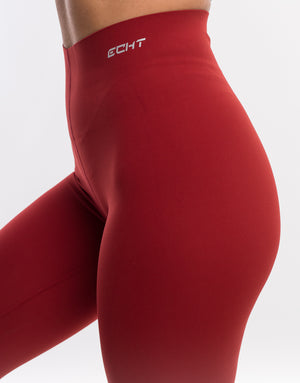 Echt Range Leggings V3 - Burgundy