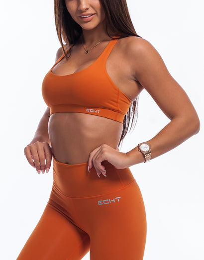 Echt Force Sportsbra - Burnt Orange