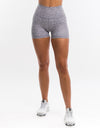 Wild Scrunch Shorts - Grey