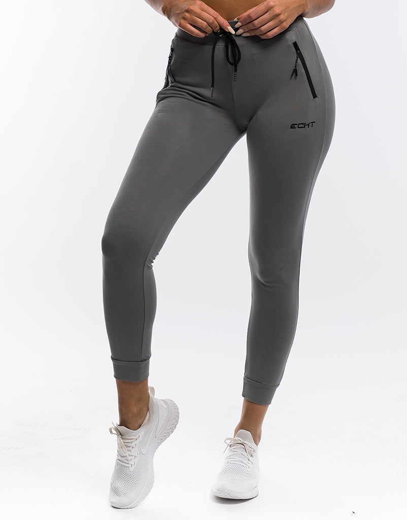 3efbd3910e51f8 Ladies Tapered Joggers - Gun Metal. $39.00 USD. Size