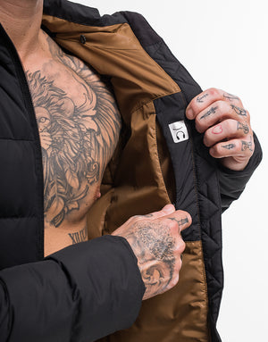 Essentia Down Jacket - Black