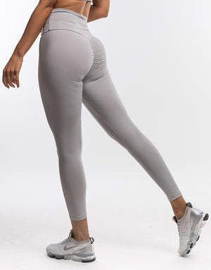 Echt Force Scrunch Leggings II - Cloud Grey
