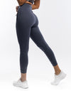Ladies Tapered Joggers - Blue Steel