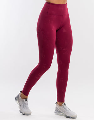 Echt Advance Leggings - Plum