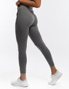 Ladies Tapered Joggers - Gun Metal