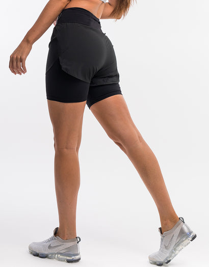 Echt Range Running Shorts - Black