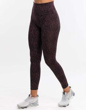 Echt Essentia Scrunch Leggings - Berry Dot