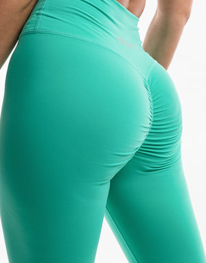 Echt Force Scrunch Leggings - Aqua