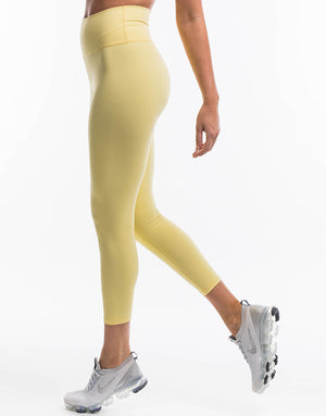 Echt Force Scrunch Leggings - Lemonade