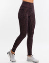 Echt Essentia Pocket Leggings - Berry Dot