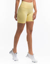 Echt Force Scrunch Bike Shorts - Lemonade