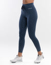 Echt Tempo Dot Leggings - Navy