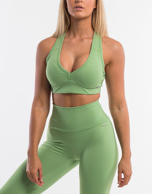 Echt Icon Sportsbra - Green Tea