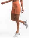 Echt Force Scrunch Bike Shorts - Cantaloupe