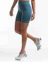 Echt Force Scrunch Bike Shorts - Bluestone