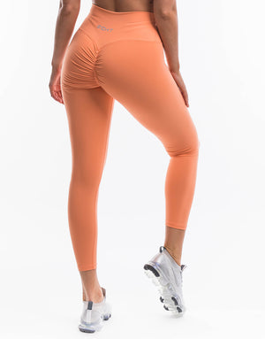 Echt Force Scrunch Leggings - Cantaloupe
