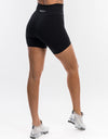 Echt Interlock Shorts - Black