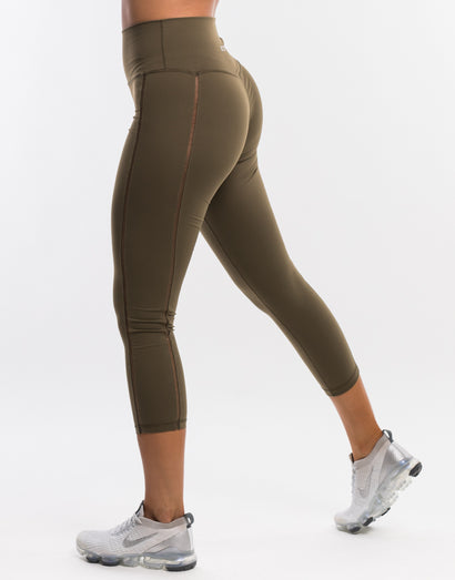 Echt Airify Leggings - Caper Khaki