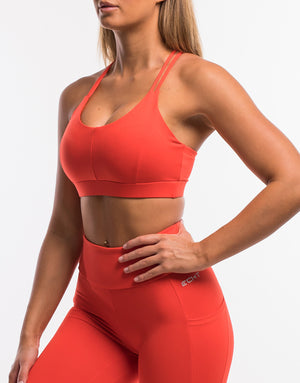Echt Purpose Sportsbra - Grenadine