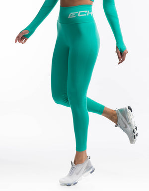 Arise Scrunch Leggings - Aqua