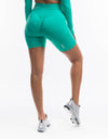 Arise Scrunch Shorts - Aqua