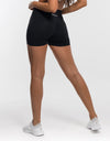 Echt Force Scrunch Shorts - Black