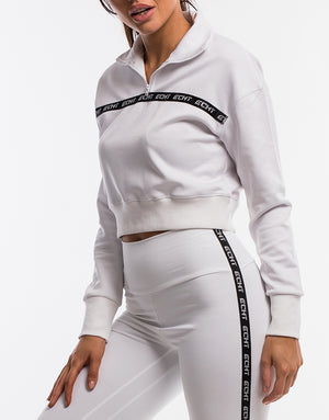 Echt Street Zip-Up - White