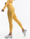 Arise Scrunch Leggings - Yellow