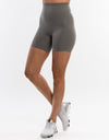 Echt Interlock Shorts - Olive
