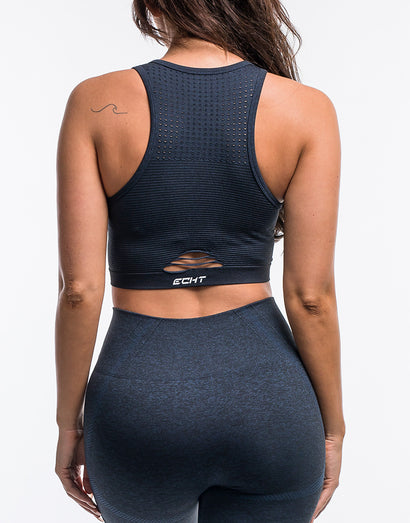 Arise Crop Top - Navy