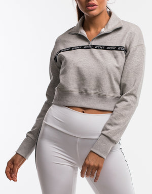 Echt Street Zip-Up - Heather Grey