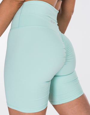 Echt Force Scrunch Bike Shorts - Mint