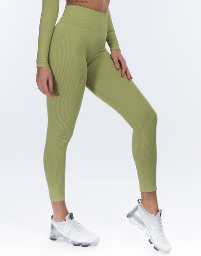 Arise Comfort Leggings - Lime Green