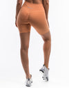 Echt Force Scrunch Bike Shorts - Peach