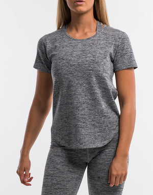 Echt Active Tee - Grey Marl