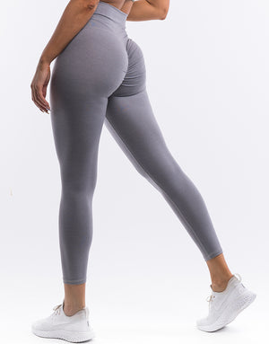 Echt Force Scrunch Leggings - Soft Grey