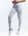 Force Pocket Leggings - White