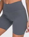 Echt Force Scrunch Bike Shorts - Gun Metal
