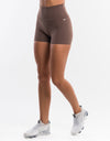 Echt Force Scrunch Shorts II - Taupe
