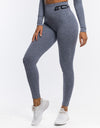 Arise Comfort Leggings - Pale Blue
