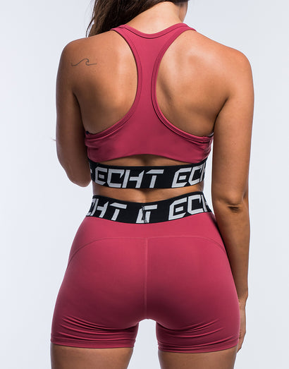 Echt Ultimate Range Sportsbra - Earth Red