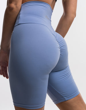 Echt Scrunch Bike Shorts II - Bel Air Blue